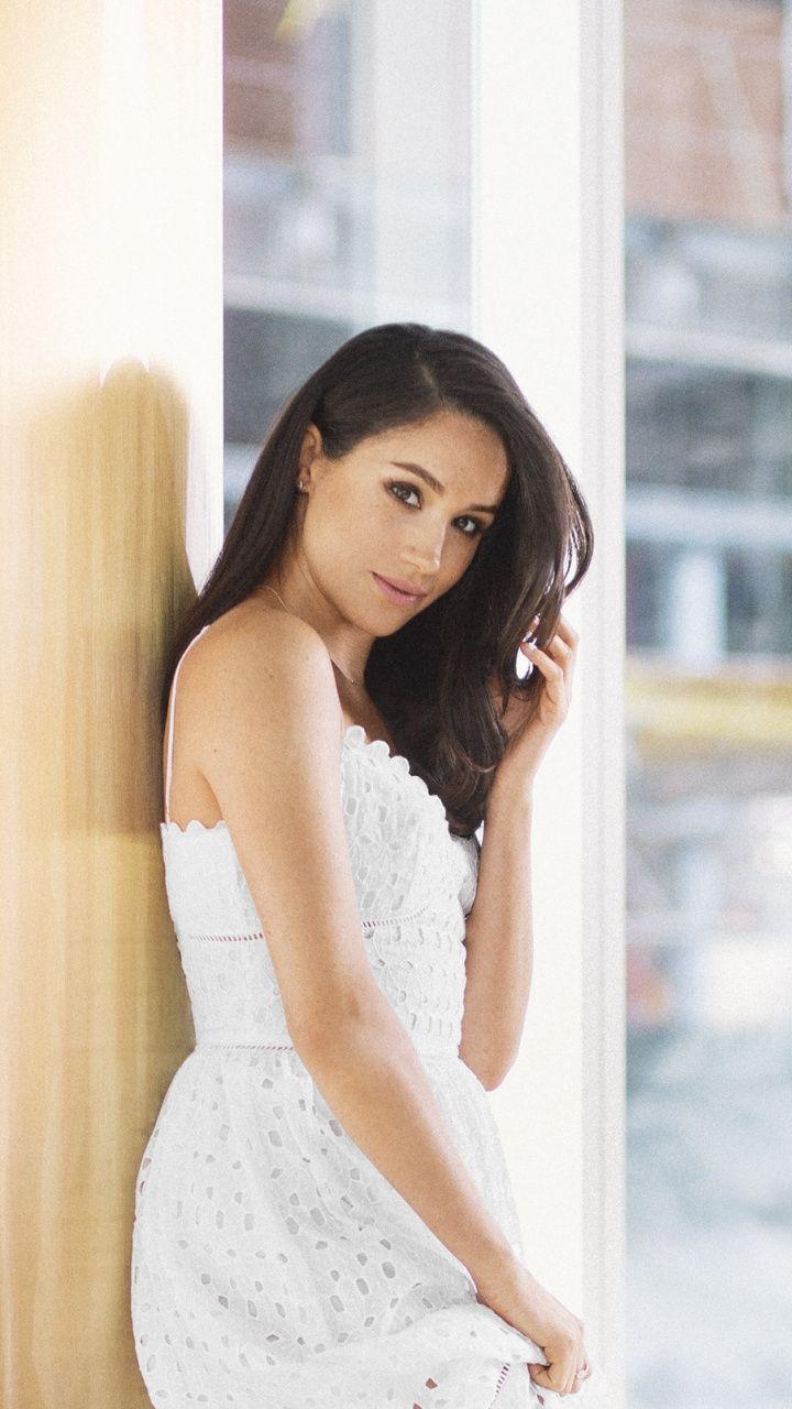720x1280 Meghan Markle Celebrity White Dress Wallpaper Dresses White Dress Celebrities