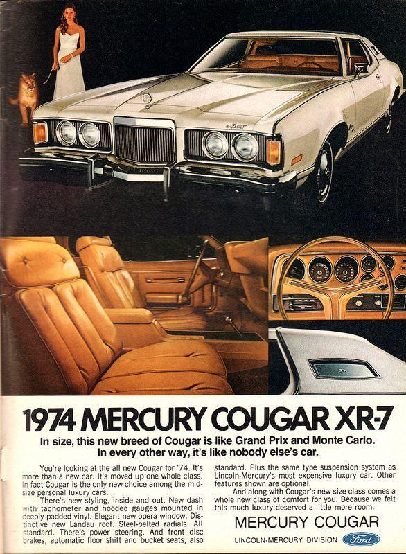 1973 Mercury Cougar : mercury, cougar, Mixed