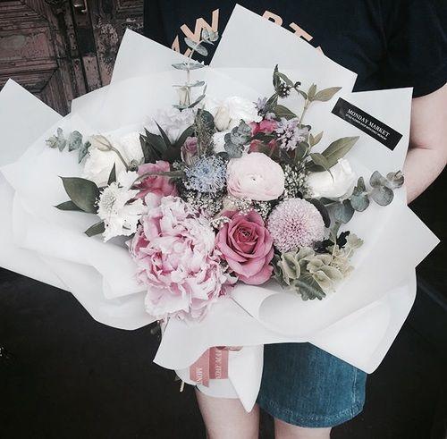 aesthetic, pansies, and peonies image