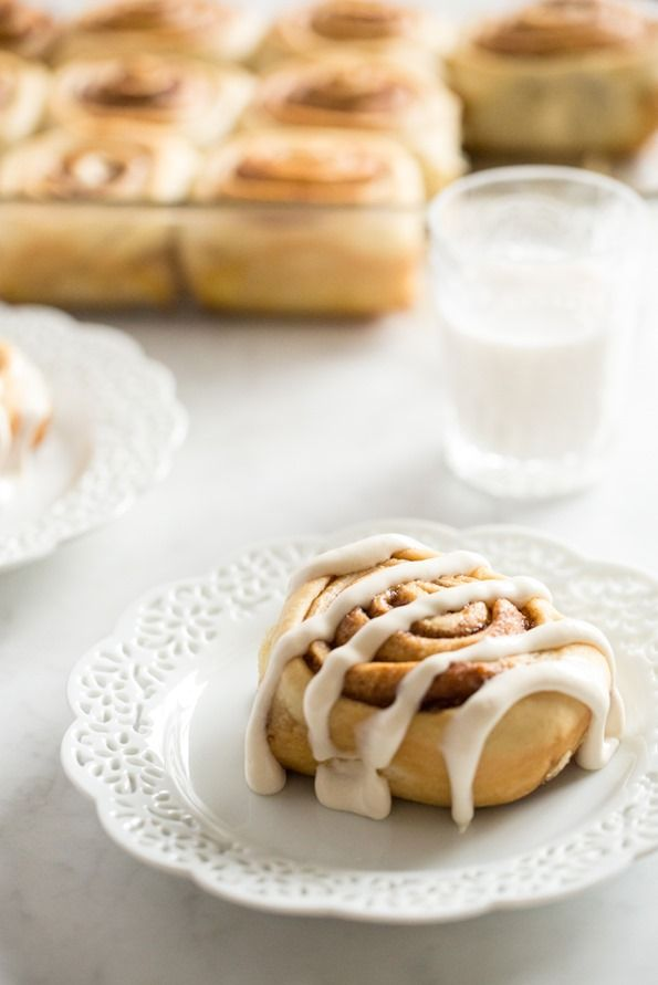 Vegan Cinnamon Rolls (with make-ahead option!) — Oh She Glows