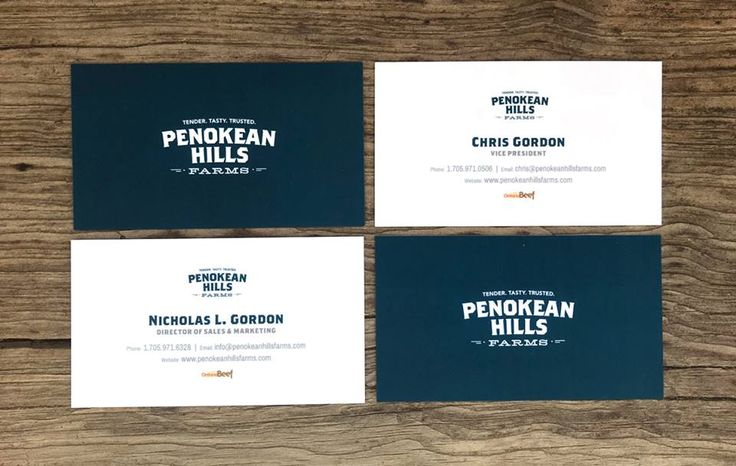 Make your cards feel as good as they look. These stunning #businesscards by Penokean Hills Farms are printed on 16pt card stock, then covered in a 1.5mil suede #lamination adding an irresistible velvety finish.