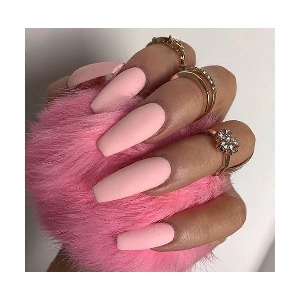 Tumblr ❤ liked on Polyvore featuring nails, pictures, backgrounds and pink