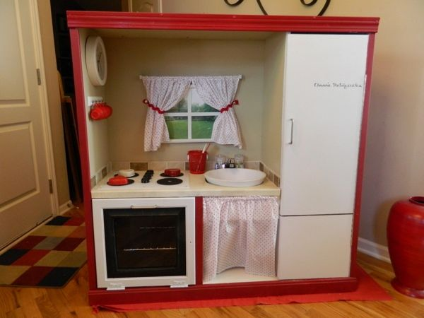 How To Make The Best Of Your Kitchenette: 791 Best Images About Create!~Kids Play Kitchens, Play