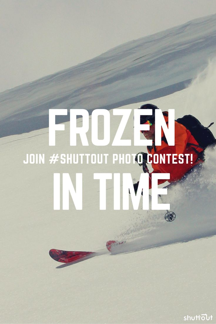 Can you capture #time on a #photo? Can you #freeze a #speed? This is a #creative #photography #contest for you.