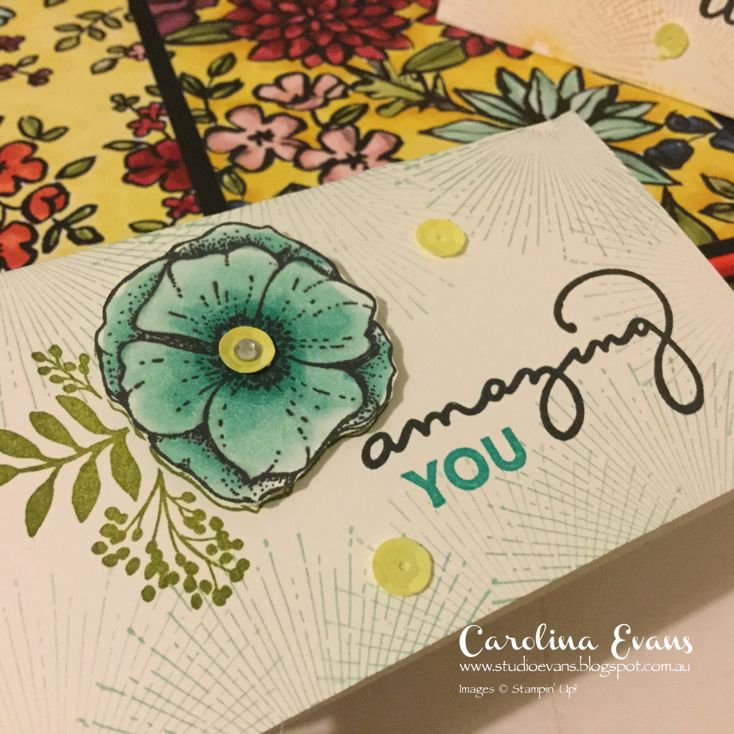 Carolina Evans - Stampin' Up! Demonstrator, Melbourne Australia: Colouring Flowers with Stampin' Blends - Video Blog Hop Welcome to another Crazy Crafters Blog Hop. We're so excited to share our projects and we're certain that you will find great tips and inspi...Carolina Evans - Stampin' Up! Demonstrator Melbourne Australia #carolinaevans #studioevans #amazingyou #sab2018 #stampinblends