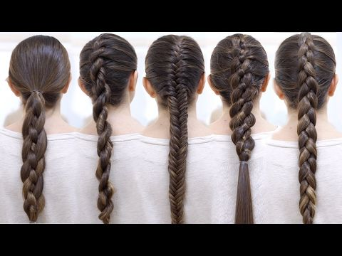 CÓMO HACER LAS MEJORES TRENZAS PASO A PASO | Braid Hairstyles Patry Jordan - YouTube Occasional posted words in English, but easy enough to follow. She braids a bit differently, and the final one has a twist step iMve never thought to do for a different result.