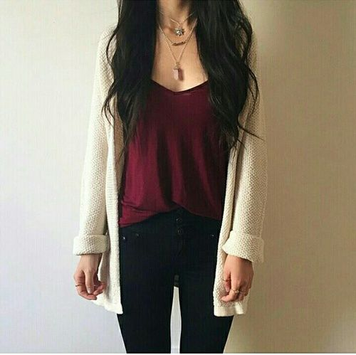 Find this Pin and more on Clothes/shoes/accessoriesッ. - Best 10+ Cream Cardigan Ideas On Pinterest Cream Cardigan Outfit