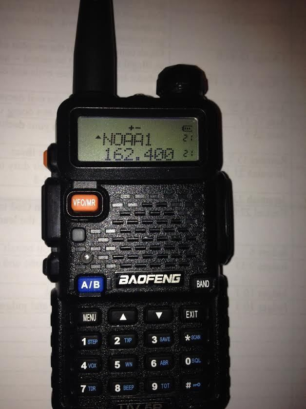Get your Ham license and a portable BaoFeng UV-5R Dual Band Two Way Radio
