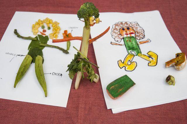 Vegetable People Crafts for Kids