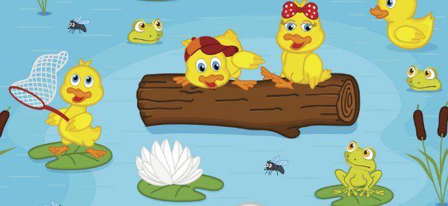 Canciones para niños: Los patitos.