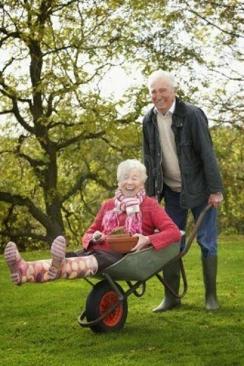 Stay happy and lovely no matter how old you are!