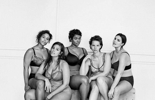 Modelky značky Lane Bryant