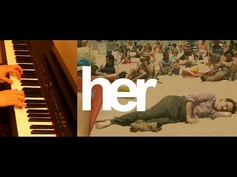 """""""Her"""" Soundtrack - Song on the Beach - FREE SHEET MUSIC - YouTube"""