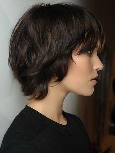 Frisur madchen dicke haare