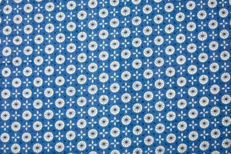 Stoff von Cosmo: Flanell mit grafischem Muster