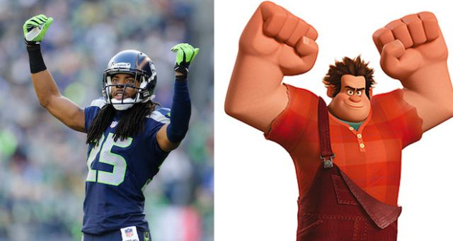 Kids reenact Sherman's postgame interview, child's letter compares him to a misunderstood Disney character