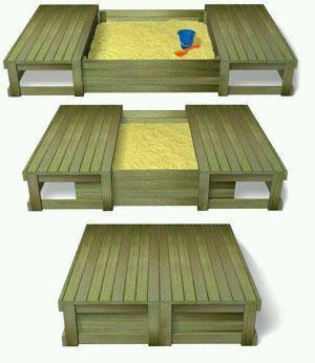 Cool Sandbox Idea For Collin Home Play Houses Decor