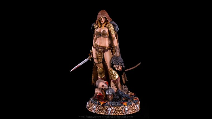 Fantasy Figure Collection: Arhian, City of Horrors ¼th Scale Painted Polystone Statue