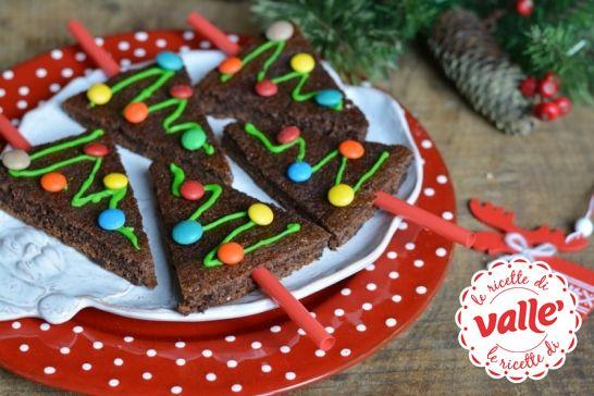 Alberelli di cioccolato  #natale