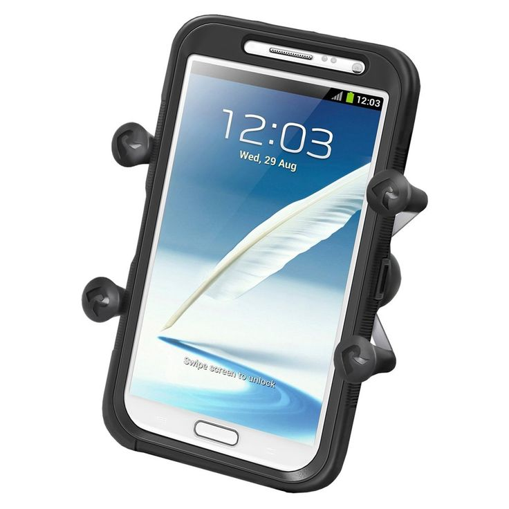 """Brand New Ram Mounting Systems Ram Mount Universal X-Grip Iv Large Phone/Phablet Holder W/1"""" Ball"""