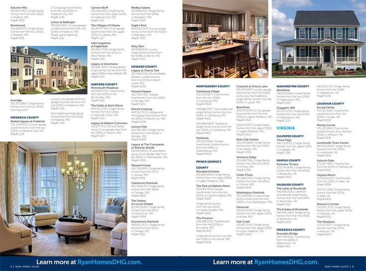 Ryan Homes - New Homes Guide