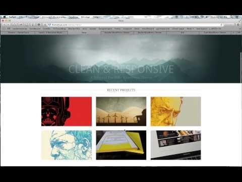 6 Best Portfolio Wordpress Themes - http://howtosetupawebsiteusingwordpress.com/6-best-portfolio-wordpress-themes/