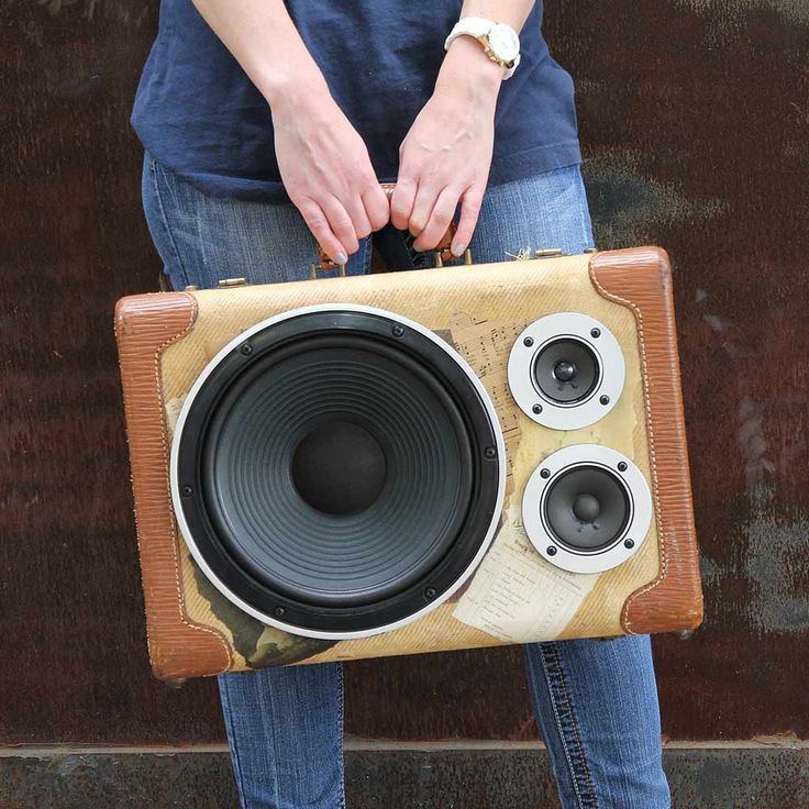 45 best Thumpers images on Pinterest | Boombox, Vintage suitcases ...