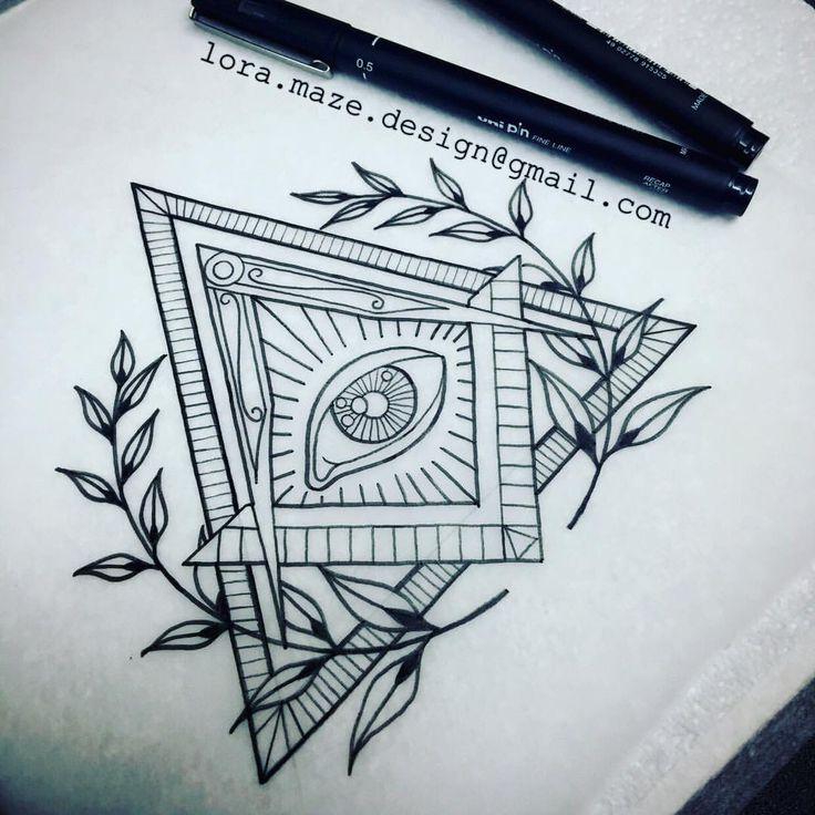Bildresultat för illuminati tattoo