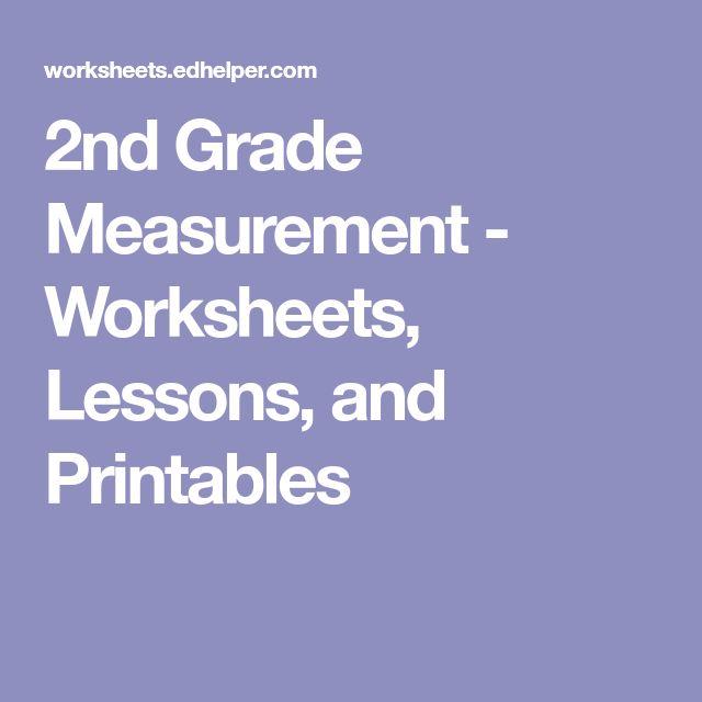 Best 25+ Measurement worksheets ideas on Pinterest | First ...