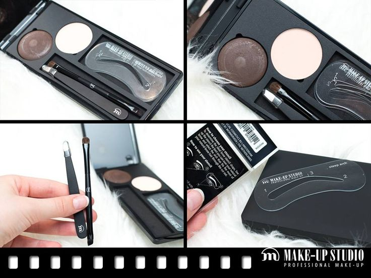 NEW: Ready-to-go Brow Kit.by Make-up Studio http://make-upstudio.nl/perfectbrows #brows #wenkbrauwen #eyebrow Photo & review by http://www.xwiesx.com/wenkbrauwen/wenkbrauw-kit-makeupstudio