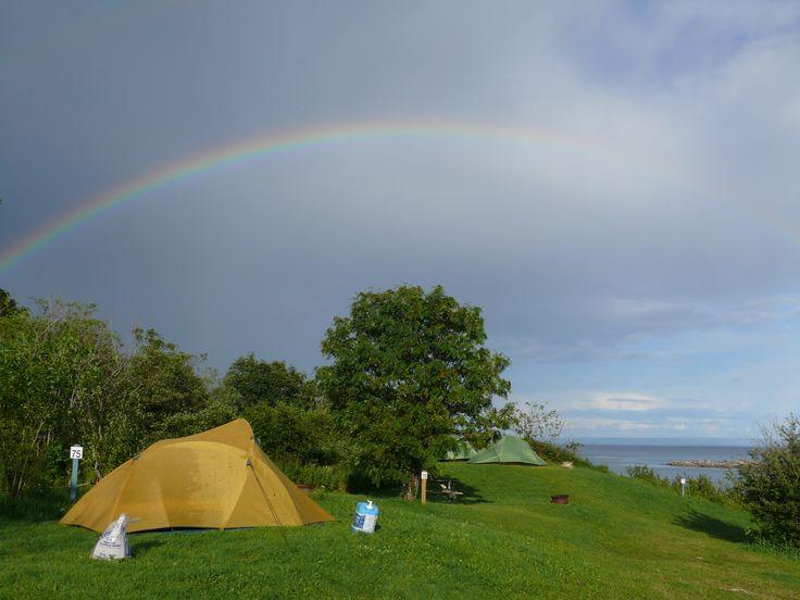 Camping Bon Désir aux Bergeronnes;-)
