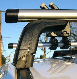 Fixpoint Roof Rack - this type of roof rack is bolted or hooked into factory mounting points mounted underneeth rain strip or plastic covers.