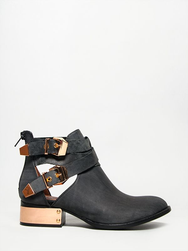 JEFFREY CAMPBELL EVERLY Black Metal Gold Leather Ankle BOOT Booty Heel sz  NEW - 221 Best Shoes Images On Pinterest Shoes, Shoe And Shoe Boots