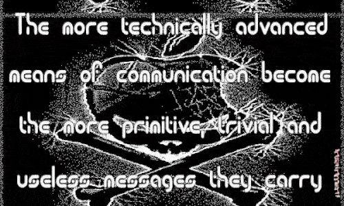 #Technology #Quote via #GIPHY | Stream of Consciousness - http://flip.it/hkR64 | Technology quotes, Quotes, Stream of consciousness