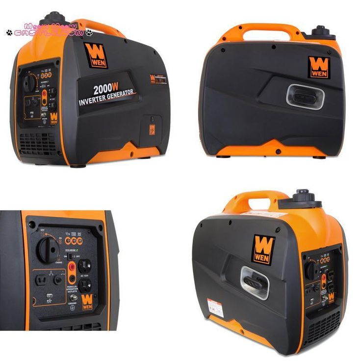 Wen 56200I Super Quiet 2000-Watt Portable Inverter Generator Carb Compliant