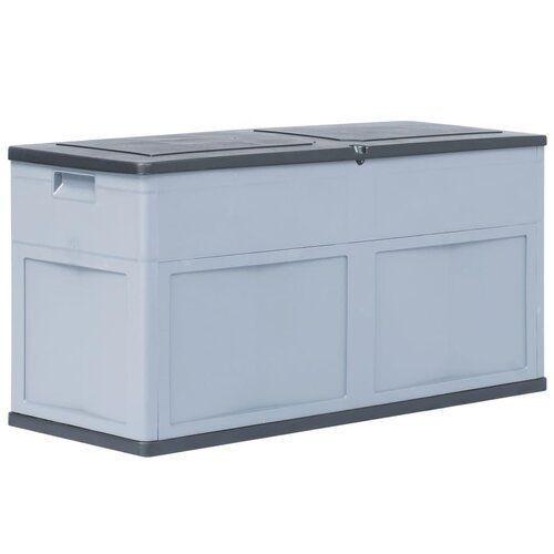 320 L Gartenbox Aus Kunststoff Wfx Utility Farbe Grau Schwarz Aufbewahrung Aufbewahrung Garten Spielzeug In 2020 Aufbewahrung Aufbewahrungsbox Speicherideen