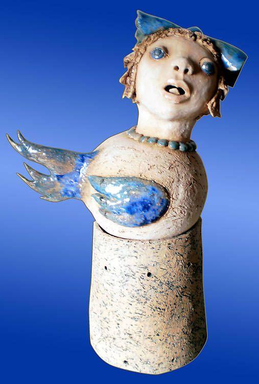 e-keramika / malá vtáčia víla