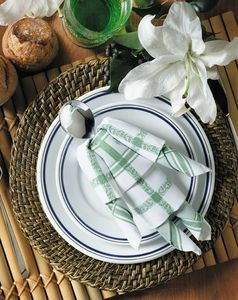 "Pliage ""pantin"". #pliage #serviette #table #deco #DIY"