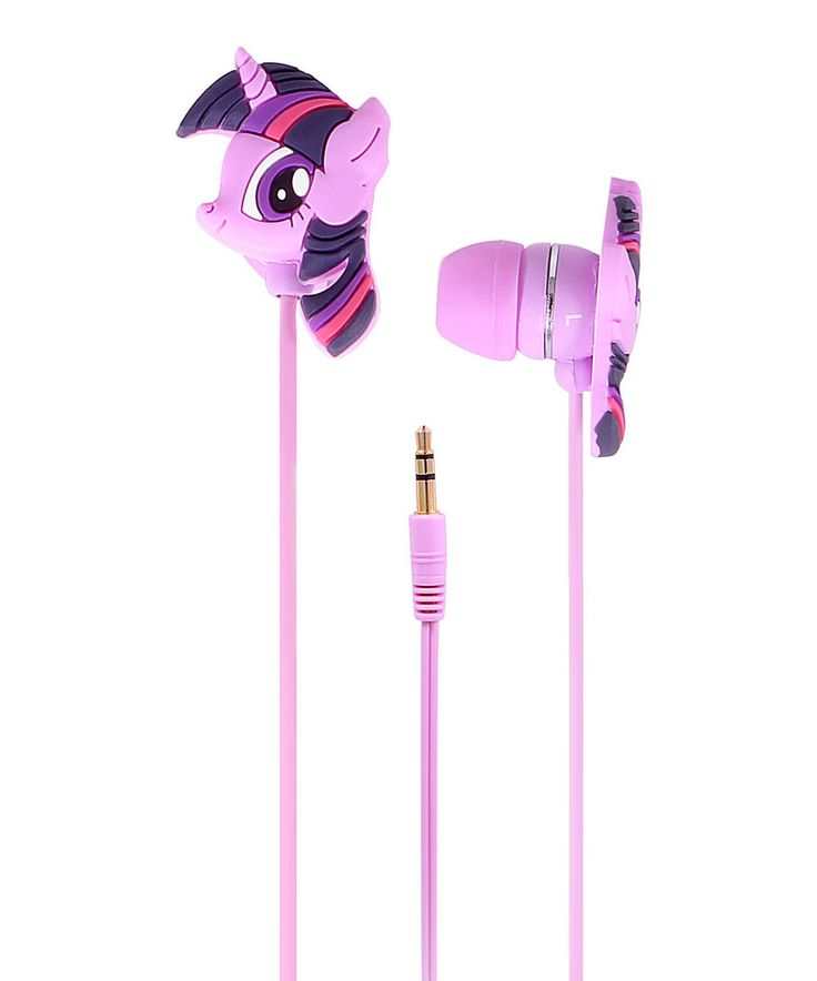Another great find on #zulily! Purple My Little Pony Molded Earbuds by My Little Pony #zulilyfinds