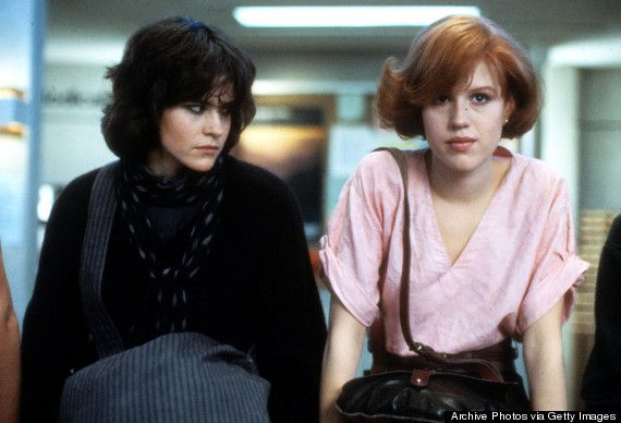 3. Molly Ringwald fought to play Allison, even though she was cast as Claire.
