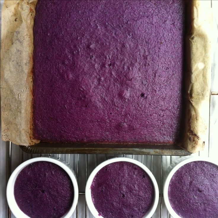 Gluten free purple sweet potato pie filling