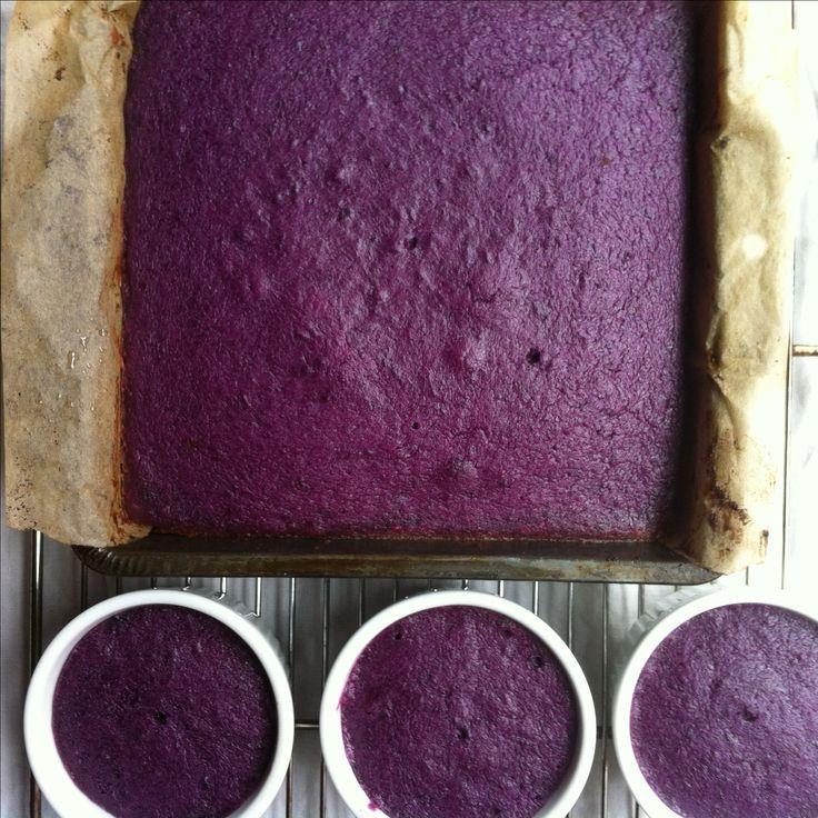 Gluten free purple sweet potato pie filling