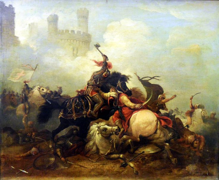 Battle Between The Crusaders And The Saracens Crusaders