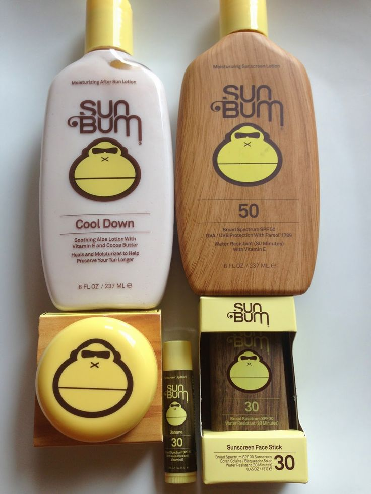 Love Sun Bum Sunscreen. Smells so yummy and too!! Love it!