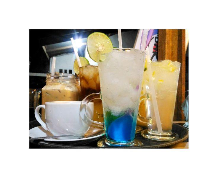 Fresh blue coco