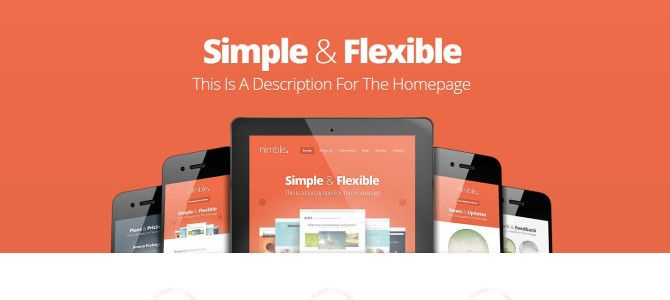 Nimble is a big, bold, and beautiful theme that doesn't let its own style get in the way. With each design I struggle to strike a balance be...