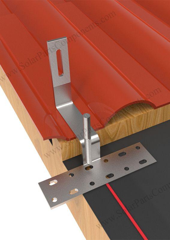 solar mounting bracket for tile roof