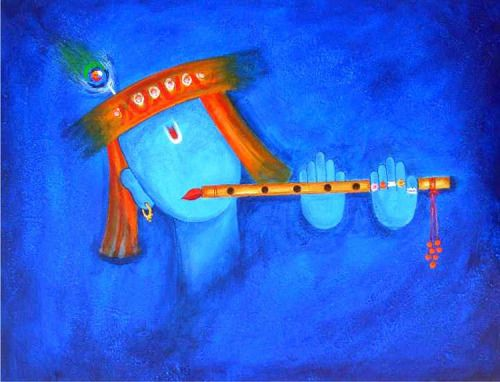 Blue of Shiva- art
