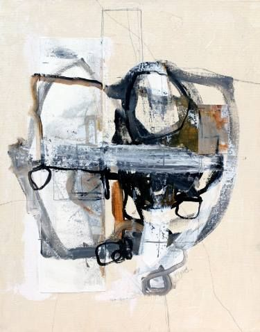 """Saatchi Art Artist Sander Steins; Painting, """"Should I take The Elevator Or The Stairs?"""" #art"""