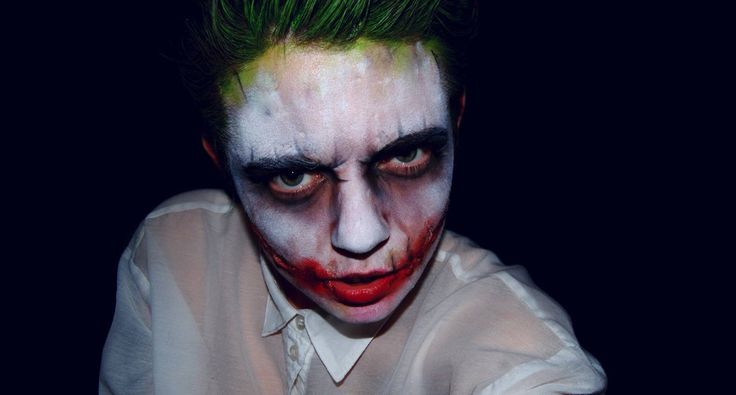 Joker Wig And Face Paint 103